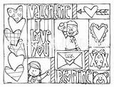 Melonheadz Coloring Valentines Clipart sketch template
