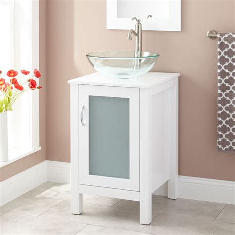 19 inch vanity with sink 19 inch modern bathroom vanity with glass vessel sink