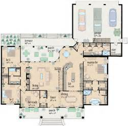 3 bedroom floor plans with garage ranch style house plans 2981 square home 1 3 bedroom and 3 bath 3 garage stalls