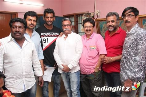 Pandavar Ani First Day At Nadigar Sangam Office