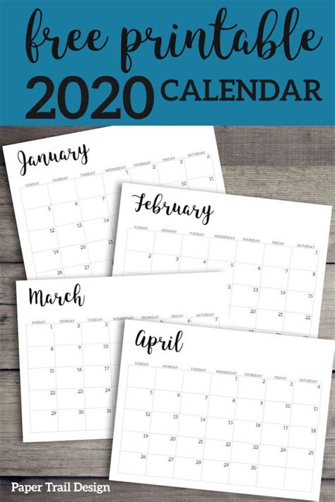 calendar printable  template monthly planner