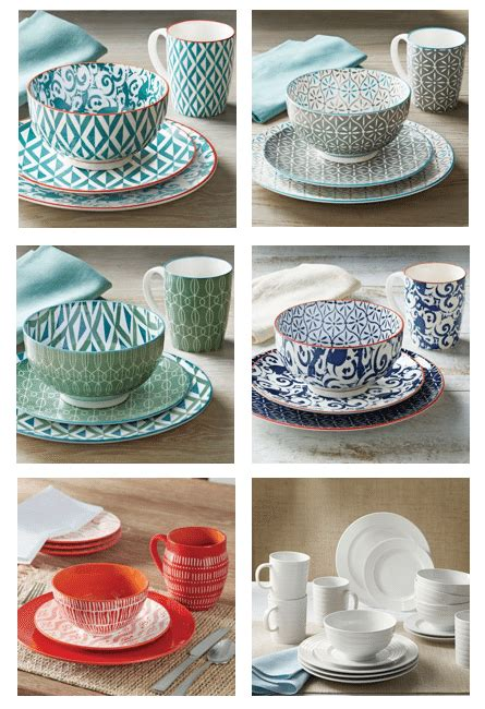 better homes and gardens dishes sleek comfy outdoor dining refresh restyle