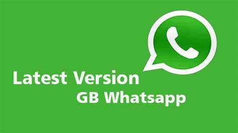 version gb whatsapp apk app free 2019 updated