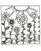 Coloring Sunset Sunsets Ocean Sun Adult Printable Printables Flowers Sheets Flower Colouring Drawing Hills Adults Drawn Pencils Colored Getcolorings Stencils sketch template