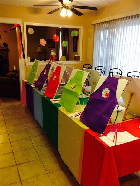 art party    yr  daughter craft ideas