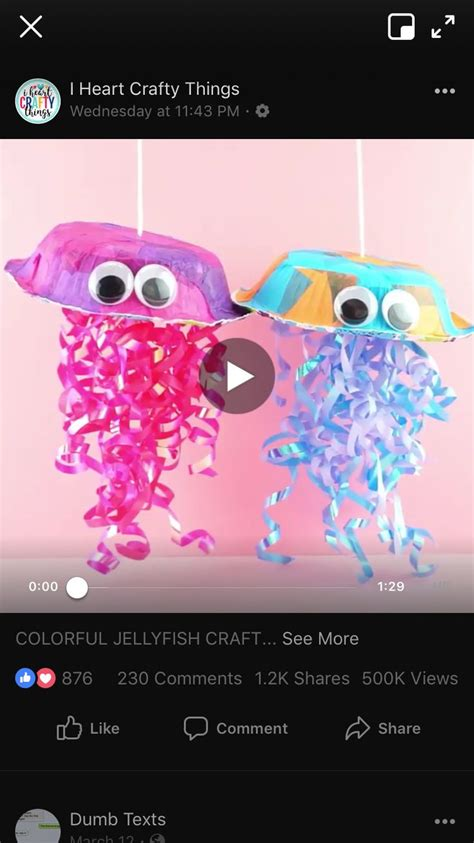pin  charity smith  pre  ocean jellyfish craft
