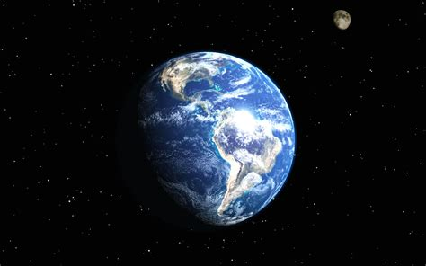 Wallpapers Earth Moon