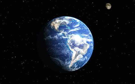 Wallpapers Earth Moon