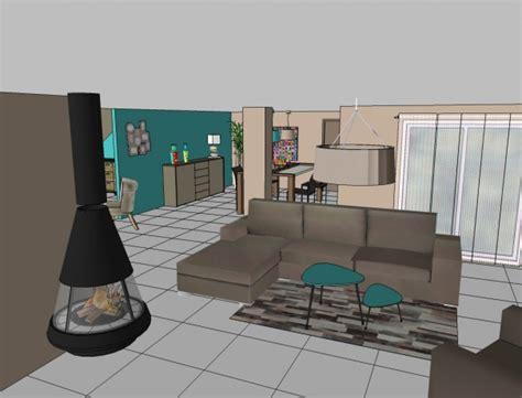 decoration salon cuisine deco salon home staging