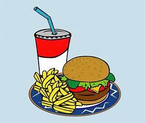 Fries Burger Soda Fast Food Clip Art at Clker.com - vector ...