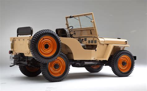 vintage willys jeep 1945 willys overland model cj2a vintage drive truck trend