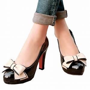 Schuhe Schnüren Ohne Schleife : office high heels mit schleife und keilabsatz korallenrosa damen schuhe gr 34 42 ebay ~ Frokenaadalensverden.com Haus und Dekorationen