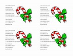 candy cane poem - Google Search   christmas   Pinterest ...