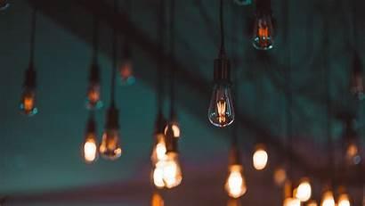 Lighting Bulbs Electricity Wallpapers Blur 4k Ultra