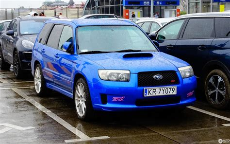 subaru forester sti  september  autogespot