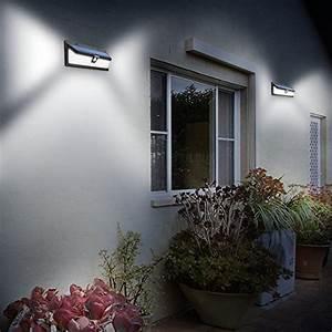 Luminaire Exterieur D Angle : 54 led mpow lampe solaire ext rieure tanche ip65 1188 ~ Edinachiropracticcenter.com Idées de Décoration