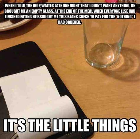 Funny Server Memes - ihop waiter with a sense of humor meme guy