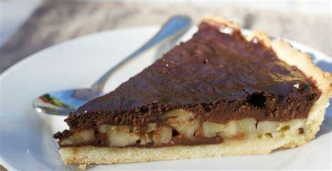 tarte chocolat banane pate sablee tarte chocolat banane recette de tarte sucr 233 e feuille de choux
