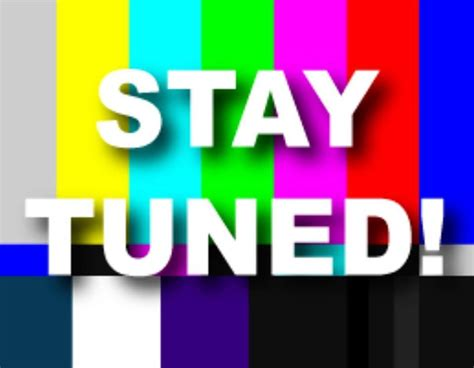 Exciting News Today!! Stay Tuned!