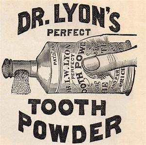 Antique Graphics Advertisement - Dr Lyon's Tooth Powder