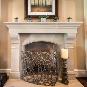 Rothton Cast Stone Fireplace Mantels   36, 42   Old World