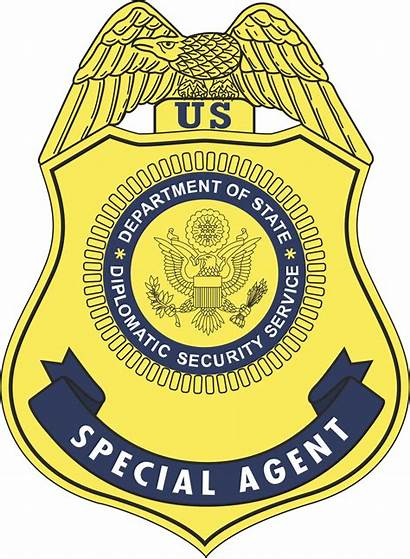 Diplomatic Security Badge Service United States Svg
