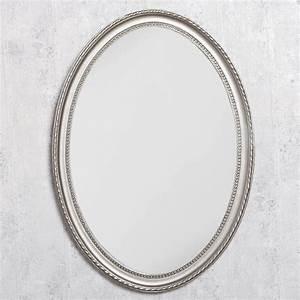 Spiegel Oval Silber : spiegel nerina 70x50cm silber antik oval 5015 ~ Markanthonyermac.com Haus und Dekorationen