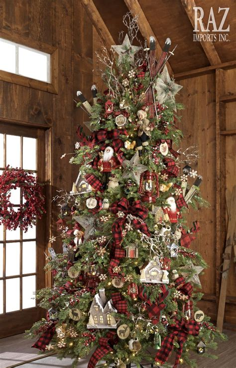 ideas  cabin christmas decor  pinterest