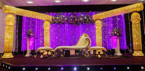 asian wedding stage uks leading wedding service