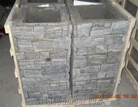 slate pillarcolumnconcrete cultured stone pillar gate postslate cladding cement post xiamen