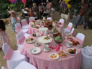 Tea Party Birthday Theme Ideas