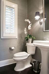 9 ways to make a half bath feel whole half baths bath With how to make a small half bathroom look bigger