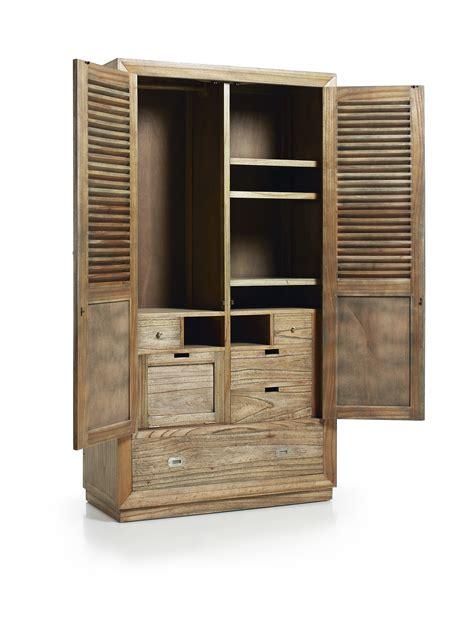 armoire de chambre armoire de chambre avec penderie en bois de