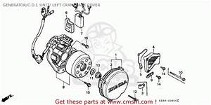 Honda Cr250r Elsinore 1991  M  Canada Generator  C D I  Unit   Left Crankcase Cover