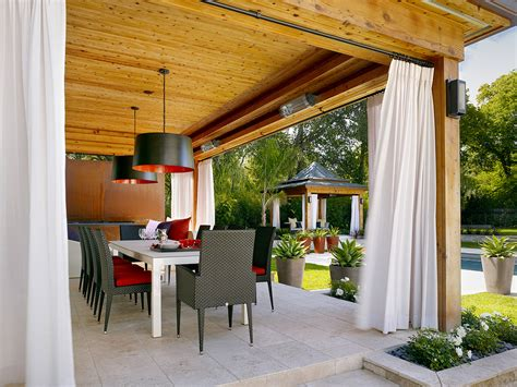 Patio Curtains Outdoor Idea by Splendid How To Make Outdoor Curtain Rods Decorating Ideas