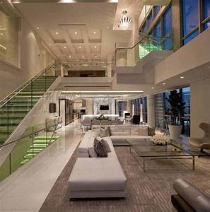 4-Story Penthouse Miami - Contemporary - Living Room