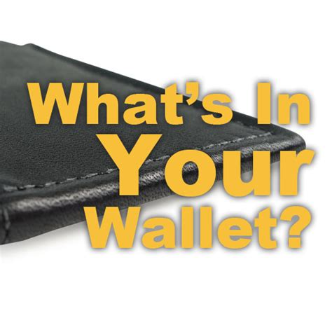 What's In Your Wallet? Patrickfarbercom