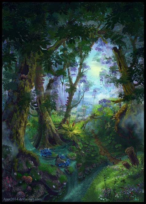 summer forest book cover  azotdeviantartcom