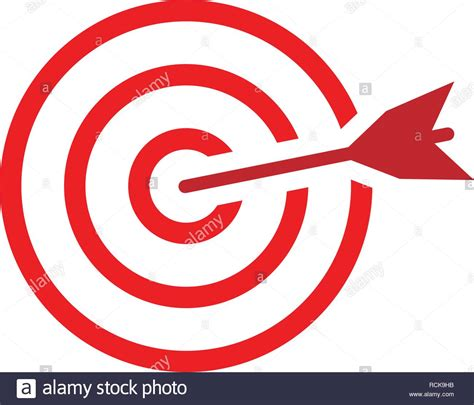 target icon graphic design template vector isolated stock