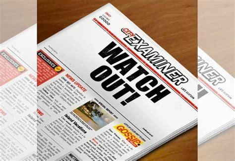 newspaper headline template   word  psd eps