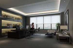 3d, Asset, Full, Modern, Office, Room, Scene