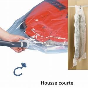Housse Vide D Air : housse de rangement sous vide d 39 air wenko sur cintre 105x70 cm ~ Melissatoandfro.com Idées de Décoration