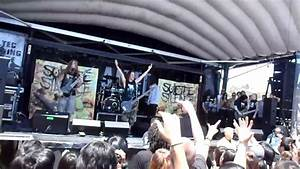 "SUICIDE SILENCE ouch...WALL OF DEATH ""DISENGAGE"" Warped ..."
