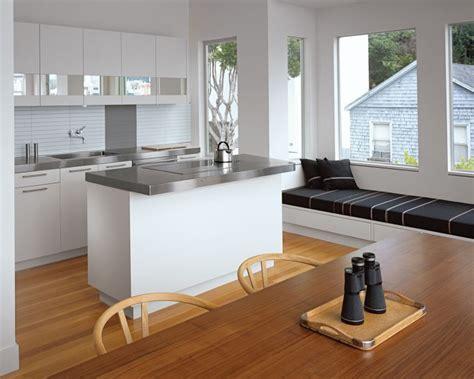 cuisine prete a installer cuisine en l moderne avec îlot en 108 photos magnifiques