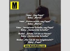 """Vater """"Sag Papa!"""" Baby """"Mama!"""" Made My Day"""