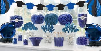 Graduation Table Decorating Kit by Royal Blue Graduation Supplies City