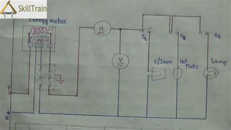 diagammatic representation  simple house wiring hindi