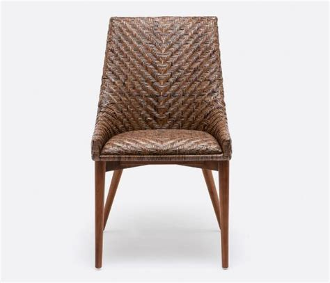 woven rattan dining chair mecox gardens
