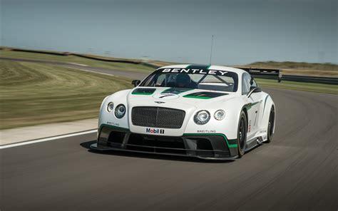 Bentley Race Car by Bentley Continental Gt3 Race Car 2014 Widescreen