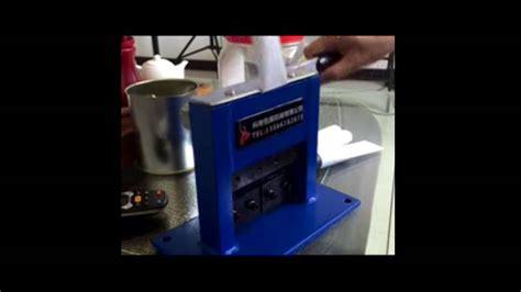 manual tube crimping sealing machine  youtube